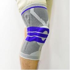 Наколенники для фиксации и защиты сустава серо-синие