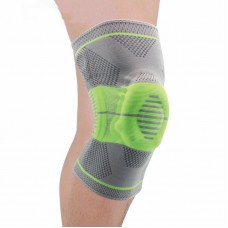 Наколенники для фиксации и защиты сустава серо-зеленые
