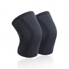 Неопреновые наколенники черные 7 мм