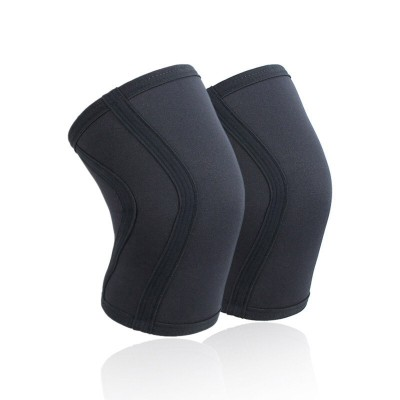 Неопреновые наколенники черные 7 мм - Сайд-Степ магазин спортивной экипировки