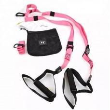 Петли для функционального тренинга P3 PRO (II комплект) розовые