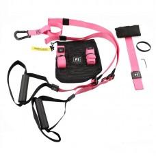 Петли для функционального тренинга P3 PRO (III комплект) розовые