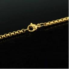 Сувенирный кулон с цепочкой боксерские перчатки gold