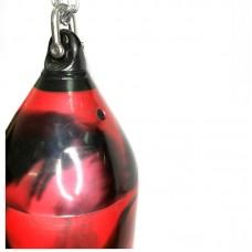 Водоналивной мешок черно-красный 75 см (D=30)