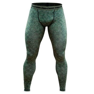 Компрессионные штаны The Last Emperor милитари в наличии в магазине Сайд-Степ