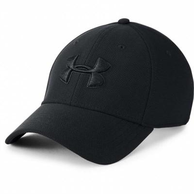 Бейсболка Under Armour heathered blitzing 3.0 black в наличии в магазине Сайд-Степ
