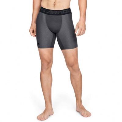 Компрессионные шорты Under Armour mid compression 15 см серые в наличии в магазине Сайд-Степ