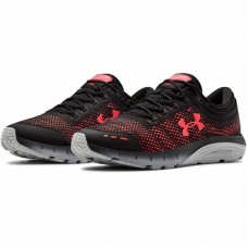 Кроссовки Under Armour charged bandit 5 black/red