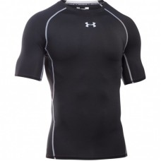 Рашгард Under Armour heatgear armour compression ss черный