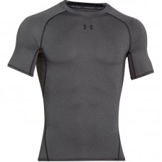 Рашгард Under Armour heatgear armour compression ss серый