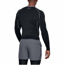 Рашгард Under Armour heatgear armour compression ls black