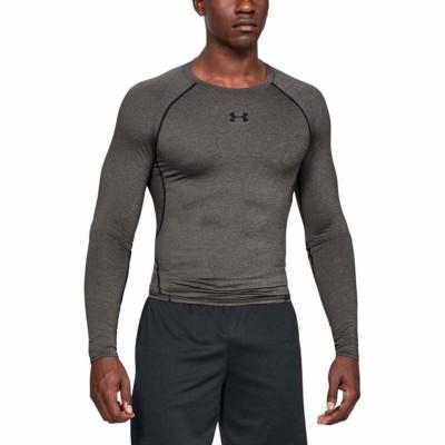 Рашгард Under Armour heatgear armour compression ls серый в наличии в магазине Сайд-Степ
