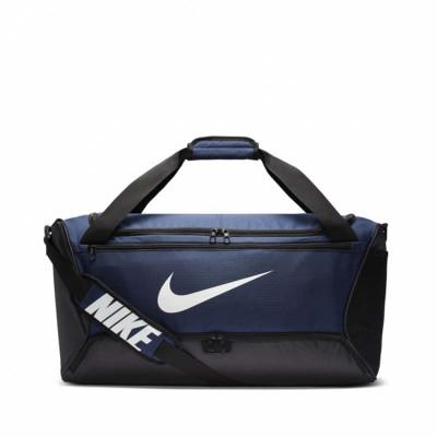 Спортивная сумка Nike brasilia duffel m black/blue (60 л) в наличии в магазине Сайд-Степ