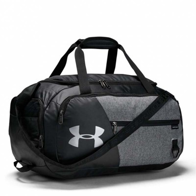 Спортивная сумка Under Armour undeniable duffel 4.0 md черно-серая (58 л) в наличии в магазине Сайд-Степ