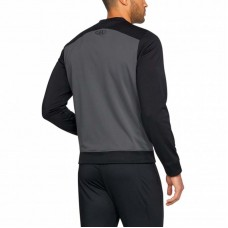 Кофта Under Armour challenger II track knit full zip черно-серая