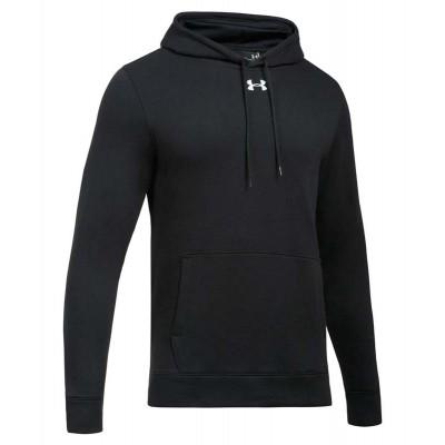 Толстовка Under Armour hustle fleece черная в наличии в магазине Сайд-Степ