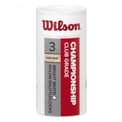 Воланы Wilson championship 3pc wh 77 в наличии в магазине Сайд-Степ